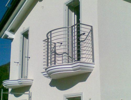 Realizzazione di parapetti in acciaio